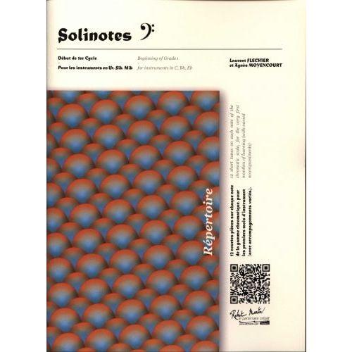 ROBERT MARTIN FLECHIER R., MOYENCOURT A. - SOLINOTES CLE DE FA