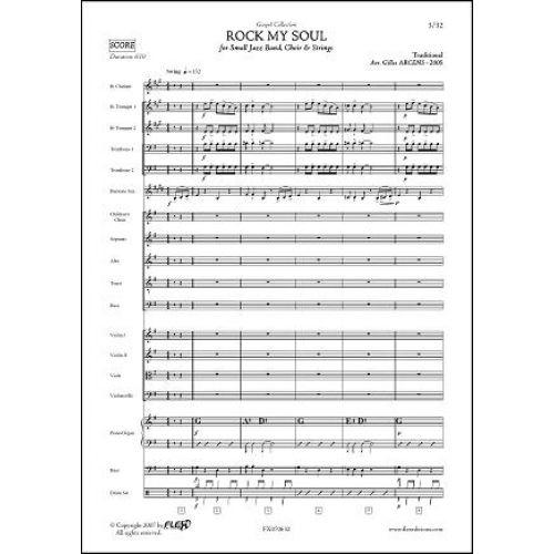 FLEX EDITIONS ARCENS G. - ROCK MY SOUL - JAZZ BAND, CHILDREN CHOIR, SINGERS AND STRINGS