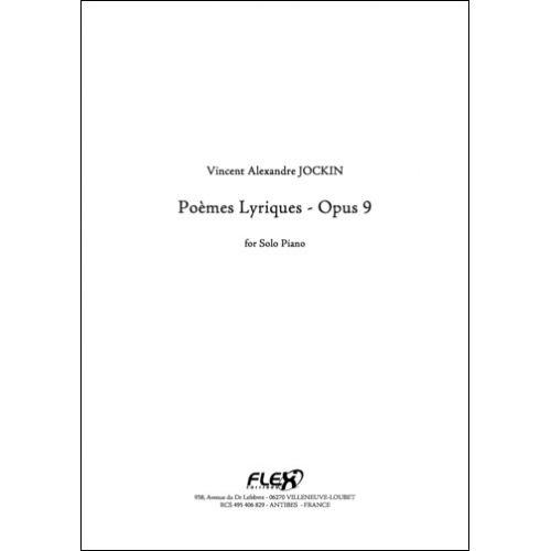 FLEX EDITIONS JOCKIN V. A. - 6 POEMES LYRIQUES OPUS 9 - SOLO PIANO