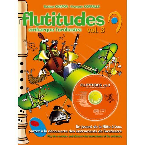 HIT DIFFUSION FLUTITUDE EMBARQUE L'ORCHESTRE VOL.3 + CD