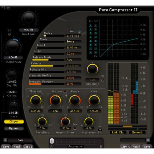 FLUX FLUX PURE COMPRESSOR II, PLUG-IN COMPRESSEUR