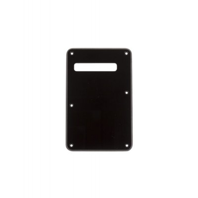 FENDER BACKPLATE STRATOCASTER BLACK 1-PLY