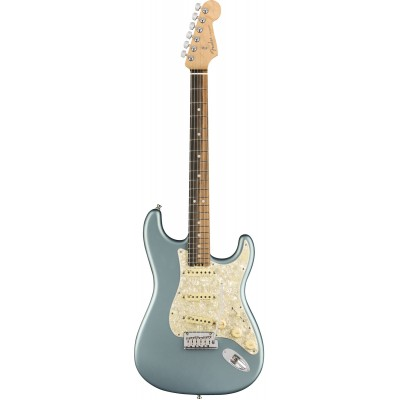 FENDER AMERICAN ELITE STRATOCASTER SATIN ICE BLUE METALLIC