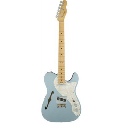 FENDER AMERICAN ELITE TELECASTER THINLINE MN MYSTIC ICE BLUE