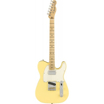 FENDER AMERICAN PERFORMER TELECASTER WITH HUMBUCKING MN VINTAGE WHITE