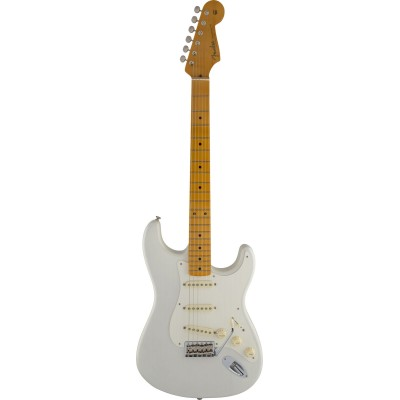 FENDER STRATOCASTER AMERICAN ARTIST SIGNATURE ERIC JOHNSON WHITE BLONDE