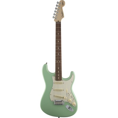 FENDER STRATOCASTER AMERICAN ARTIST SIGNATURE JEFF BECK SURF GREEN