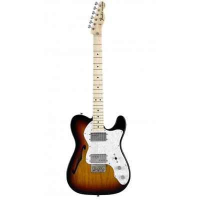 FENDER TELECASTER MEXICAN CLASSIC 72 THINLINE SUNBURST