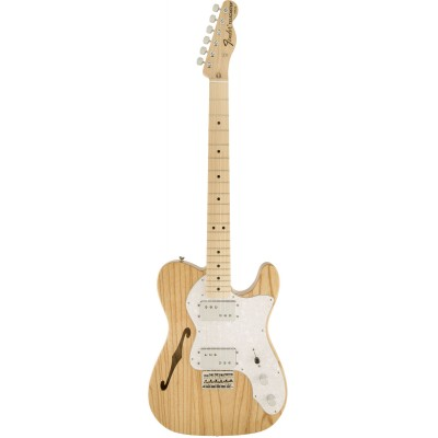 FENDER TELECASTER MEXICAN CLASSIC 72 THINLINE NATURAL ASH