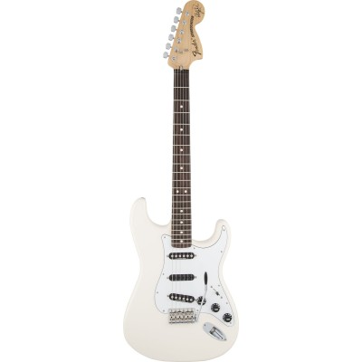 FENDER STRATOCASTER MEXICAN ARTIST SIGNATURE RITCHIE BLACKMORE OLYMPIC WHITE