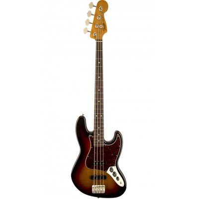 FENDER MEXICAN LACQUER 60S JAZZ BASS LACQUER SUNBURST