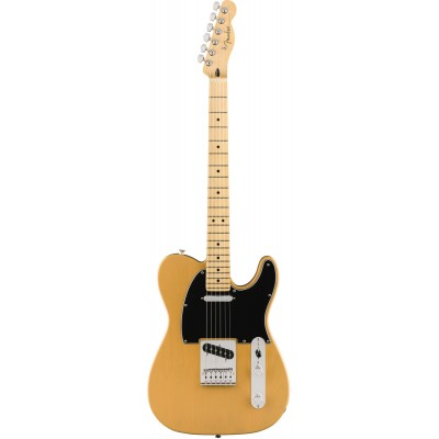 FENDER LIMITED EDITION PLAYER TELECASTER, MAPLE FINGERBOARD, BUTTERSCOTCH BLONDE