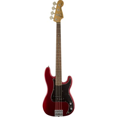 FENDER MEXICAN ARTIST SIGNATURE NATE MENDEL PRECISION BASS CANDY APPLE RED