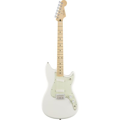 FENDER DUO-SONIC MN AGED WHITE