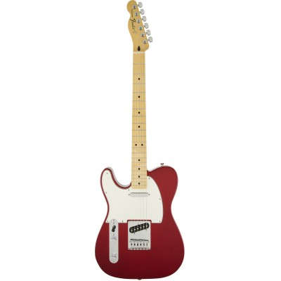 FENDER GAUCHER MEXICAN STANDARD TELECASTER CANDY RED