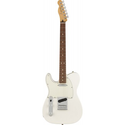 FENDER TELECASTER MEXICAN PLAYER POLAR WHITE