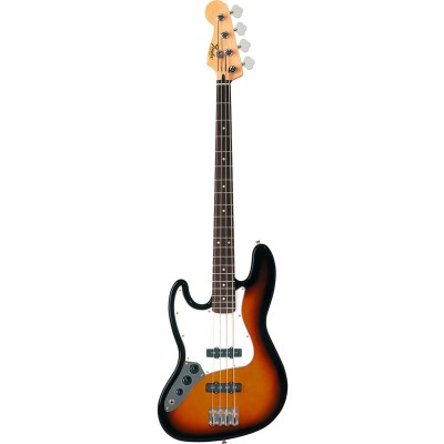 FENDER LINKSHAENDER MEXICAN STANDARD JAZZ BASS BROWN SUNBURST