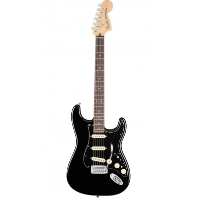 FENDER MEXICAN DELUXE STRATOCASTER RW BLACK