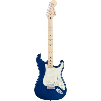 FENDER MEXICAN DELUXE STRATOCASTER MN SAPPHIRE BLUE TRANSPARENT