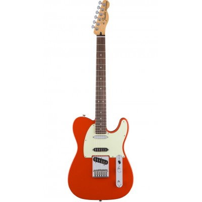 FENDER MEXICAN DELUXE NASHVILLE TELECASTER RW FIESTA RED