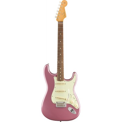 FENDER MEXICAN VINTERA '60S STRATOCASTER MODIFIED PF BURGUNDY MIST METALLIC