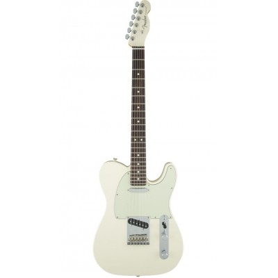 FENDER LIMITED EDITION FSR AMERICAN STANDARD TELECASTER RW PAINTED HEADCAP OLYMPIC WHITE