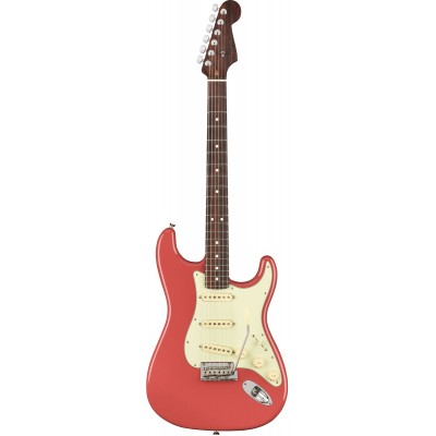 FENDER 2019 LTD AMERICAN PROFESSIONAL STRATOCASTER SOLID ROSEWOOD NECK FIESTA RED