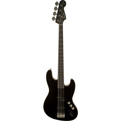 FENDER JAPAN AERODYNE JAZZ BASS SCHWARZ