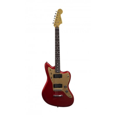 SQUIER BY FENDER DELUXE JAZZMASTER RW CANDY APPLE RED