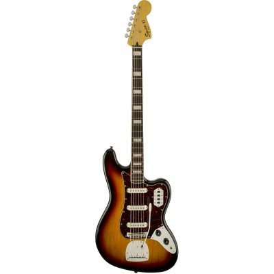 SQUIER BY FENDER BASS VI SUNBURST VINTAGE MODIFIED