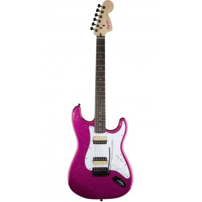 SQUIER BY FENDER AFFINITY STRATOCASTER HH FSR CANDY PINK SPARKLE
