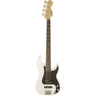 SQUIER BY FENDER PRECISION BASS OLYMPIC WHITE AFFINITY