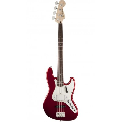 SQUIER BY FENDER JAZZ BASS CANDY APPLE RED VINTAGE MODIFIED FSR