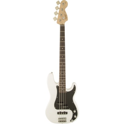 SQUIER BY FENDER AFFINITY SERIES PRECISION BASS PJ LRL OLYMPIC WHITE
