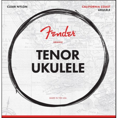 FENDER TENOR UKULELE STRINGS SET OF FOUR