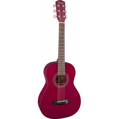 FENDER MA 1 3/4 STEEL STRING GLOSS RED