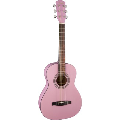 FENDER MA 1 3/4 STEEL STRING GLOSS PINK