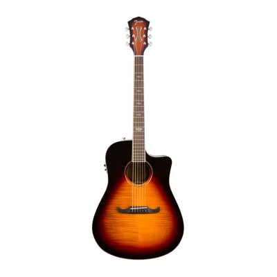 FENDER T BUCKET 300CE SUNBURST FLAME MAPLE