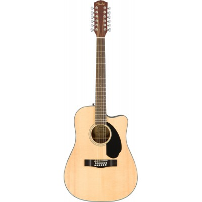 FENDER CD-60SCE DREADNOUGHT 12-STRING WLN NATURAL