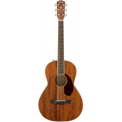 FENDER PM-2 PARLOR OVKL ALL-MAHOGANY W/CASE