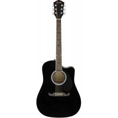 FENDER FA-125CE DREADNOUGHT WLN BLACK