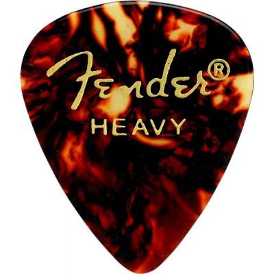 FENDER 351 SHAPE PICKS 12 PACK SHELL HEAVY