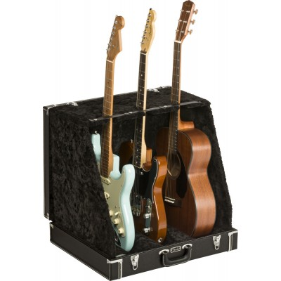 FENDER CLASSIC SERIES CASE STAND BLACK 3 GUITAR