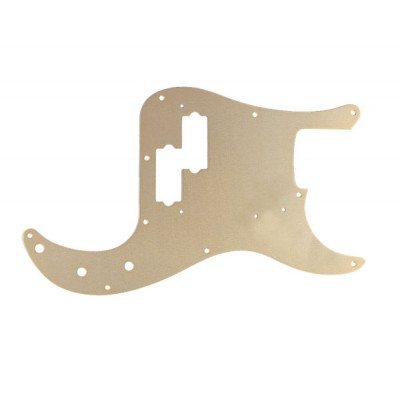 FENDER PICKGUARD '57 PRECISION BASS GOLD ANODIZED