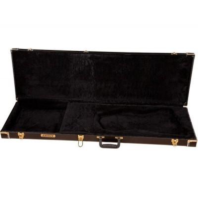 GRETSCH GUITARS G6281 DELUXE BILLY-BO JUPITER THUNDERBIRD HARDSHELL CASE BLACK