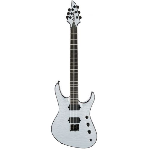 JACKSON GUITARS USA CHRIS BRODERICK SOLOIST HT 6 TRANSPARENT WHITE