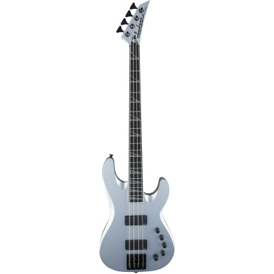 JACKSON GUITARS USA SIGNATURE DAVID ELLEFSON CONCERT BASS CB IV SATIN SILVER