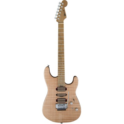 CHARVEL GUTHRIE GOVAN SIGNATURE HSH FLAME MAPLE CARAMELIZED FLAME MN NATURAL