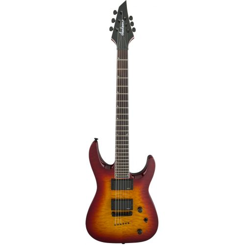 JACKSON GUITARS X SOLOIST SLATTXMGQ3 6 BURNT CHERRY SUNBURST