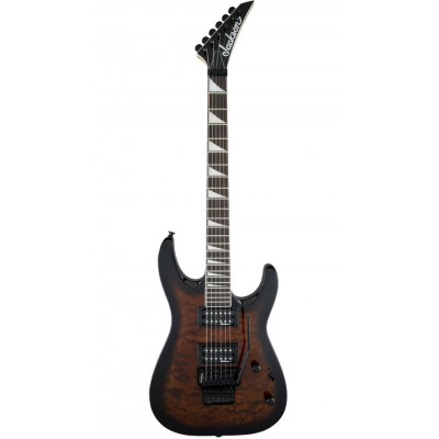 JACKSON GUITARS JS SERIES DINKY ARCH TOP JS32Q RW DARK SUNBURST